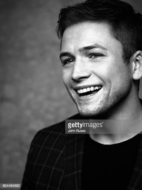 Actor Taron Egerton is photographed for 20th Century Fox on January 29 2016 in Los Angeles California