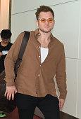 Taron Egerton Arrives In Tokyo