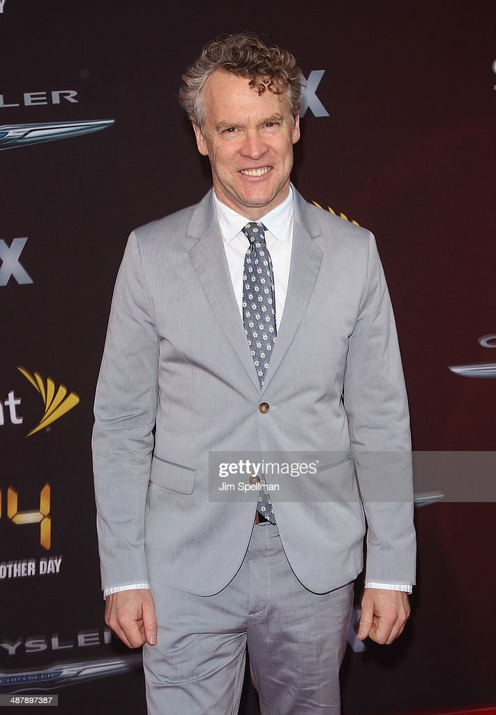 Actor Tate Donovan attends '24: Live Another Day' World Premiere at Intrepid Sea on May 2, 2014 in New York City.