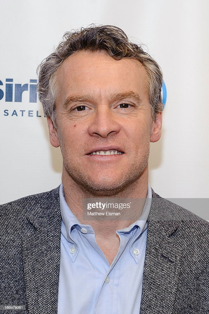 Actor <a gi-track='captionPersonalityLinkClicked' href=/galleries/search?phrase=Tate+Donovan&family=editorial&specificpeople=216433 ng-click='$event.stopPropagation()'>Tate Donovan</a> visits SiriusXM Studios on February 1, 2013 in New York City.