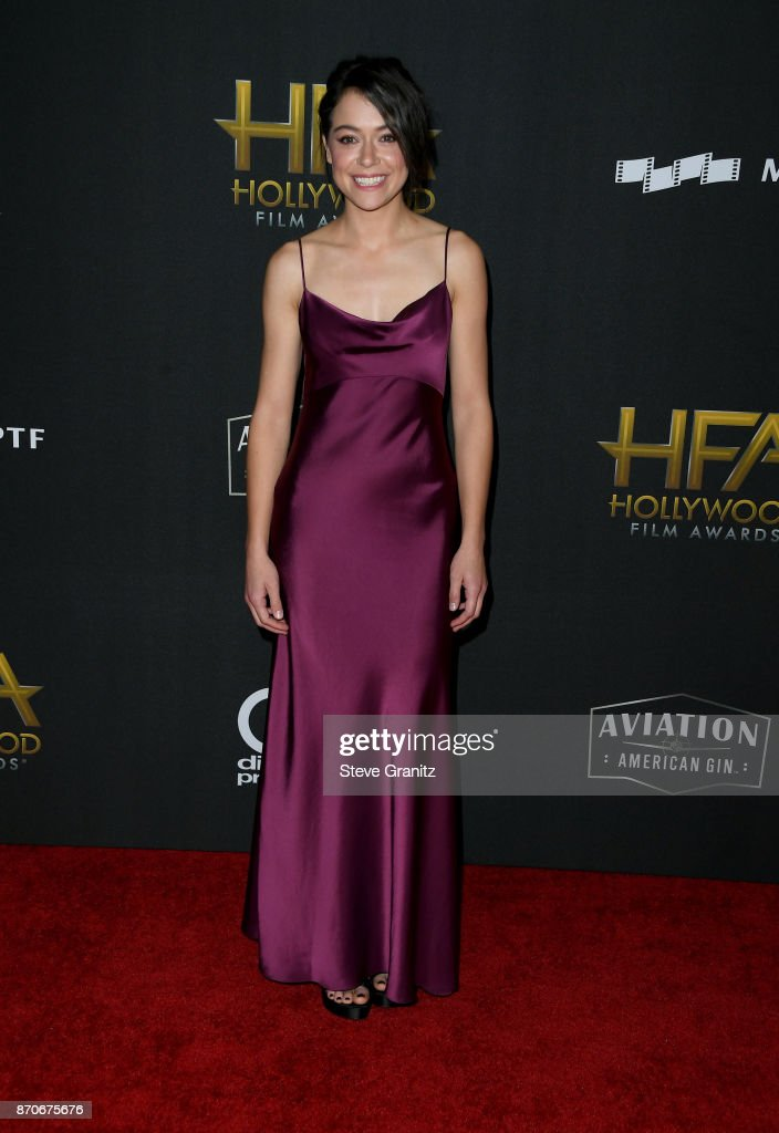 Actor Tatiana Maslany attends the 21st Annual Hollywood Film Awards at The Beverly Hilton Hotel on November 5, 2017 in Beverly Hills, California.