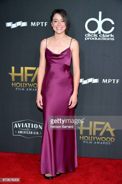 Actor Tatiana Maslany attends the 21st Annual Hollywood Film Awards at The Beverly Hilton Hotel on November 5 2017 in Beverly Hills California