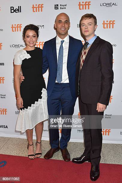 Actor Tatiana Maslany director Kim Nguyen and actor Dane DeHaan attend the 'Two Lovers And A Bear' premiere during the 2016 Toronto International...