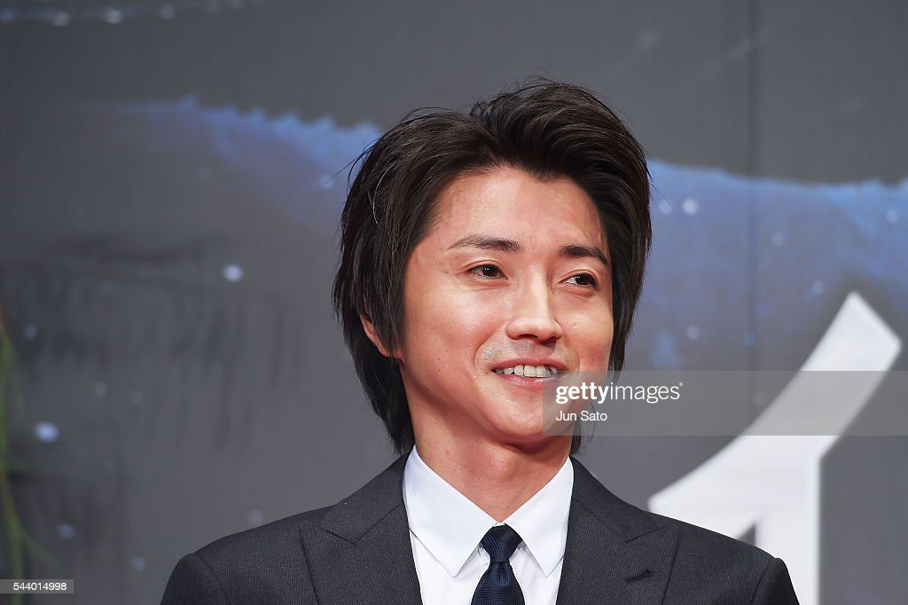 Actor Tatsuya Fujiwara attends the premiere for 'Independence Day: Resurgence' at Roppongi Hills on June 30, 2016 in Tokyo, Japan.