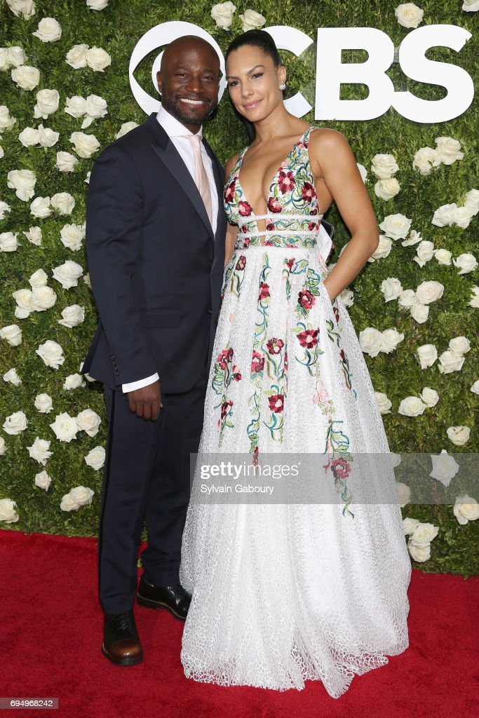 actor-taye-diggs-and-amanza-smith-brown-attend-the-2017-tony-awards-picture-id694968242