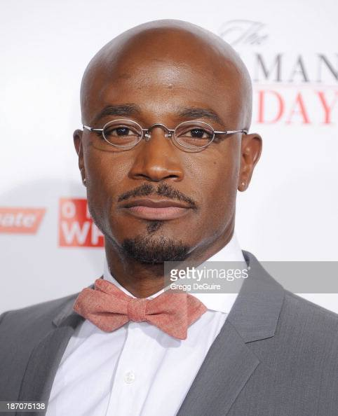 Actor Taye Diggs arrives at the Los Angeles premiere of 'The Best Man Holiday' at TCL Chinese Theatre on November 5 2013 in Hollywood California