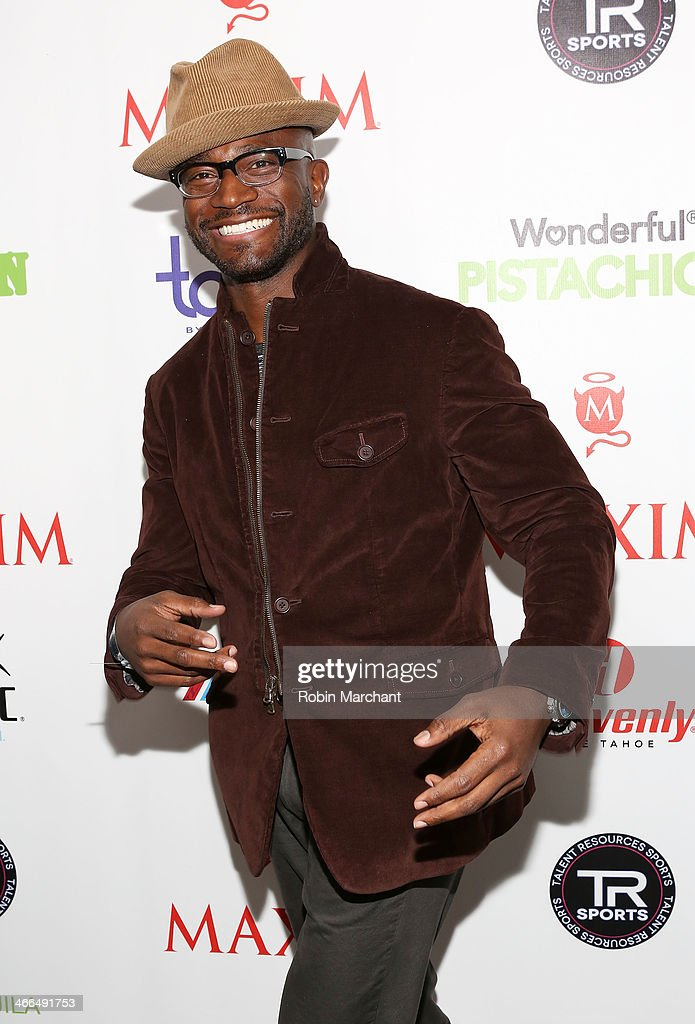 Actor <a gi-track='captionPersonalityLinkClicked' href=/galleries/search?phrase=Taye+Diggs&family=editorial&specificpeople=206415 ng-click='$event.stopPropagation()'>Taye Diggs</a> attends Talent Resources Sports presents MAXIM 'BIG GAME WEEKEND' sponsored by AQUAhydrat, Heavenly Resorts, Wonderful Pistachios, Touch by Alyssa Milano, and Philippe Chow on February 1, 2014 in New York City.