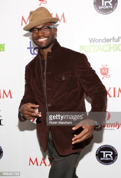 Actor Taye Diggs attends Talent Resources Sports presents MAXIM 'BIG GAME WEEKEND' sponsored by AQUAhydrat Heavenly Resorts Wonderful Pistachios...