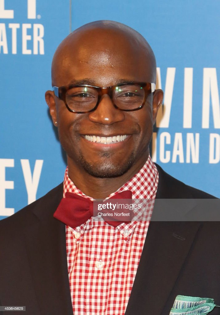Actor Taye Diggs attends the 2013 Alvin Ailey American Dance Theater's opening night benefit gala at New York City Center on December 4 2013 in New...