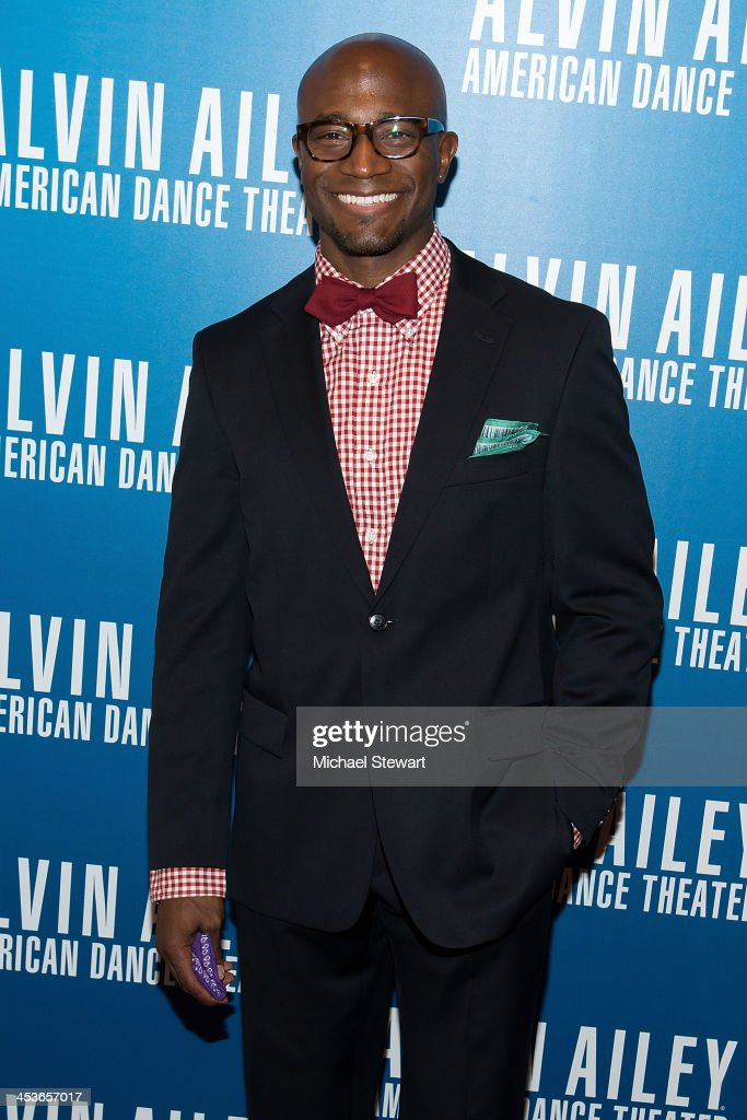 Actor <a gi-track='captionPersonalityLinkClicked' href=/galleries/search?phrase=Taye+Diggs&family=editorial&specificpeople=206415 ng-click='$event.stopPropagation()'>Taye Diggs</a> attends the 2013 Alvin Ailey American Dance Theater's opening night benefit gala at New York City Center on December 4, 2013 in New York City.
