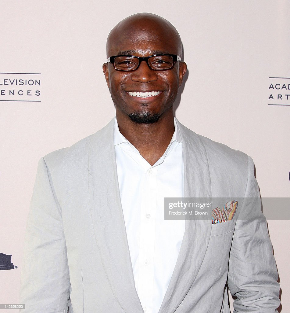 Actor <a gi-track='captionPersonalityLinkClicked' href=/galleries/search?phrase=Taye+Diggs&family=editorial&specificpeople=206415 ng-click='$event.stopPropagation()'>Taye Diggs</a> attends The Academy of Television Arts & Sciences Presents 'Welcome To ShondaLand: An Evening With Shonda Rhimes & Friends' at the Leonard H. Goldenson Theatre on April 2, 2012 in North Hollywood, California.