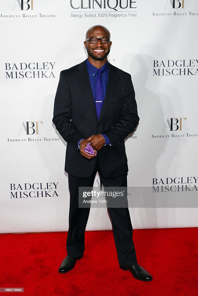 Actor <a gi-track='captionPersonalityLinkClicked' href=/galleries/search?phrase=Taye+Diggs&family=editorial&specificpeople=206415 ng-click='$event.stopPropagation()'>Taye Diggs</a> attends the American Ballet Theatre 2013 Opening Night Fall gala at David Koch Theatre at Lincoln Center on October 30, 2013 in New York City.