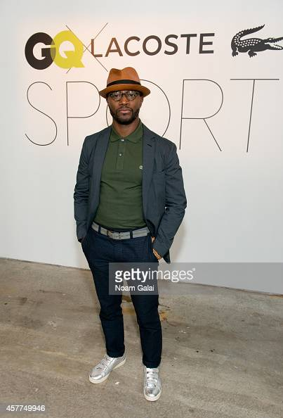 Actor Taye Diggs attends the GQ x LaCoste Sport PopUp on October 23 2014 in New York City