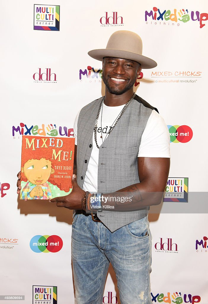 Actor Taye Diggs attends the Mixed Me Book Launch Multiculti Mixer on October 22 2015 in Los Angeles California
