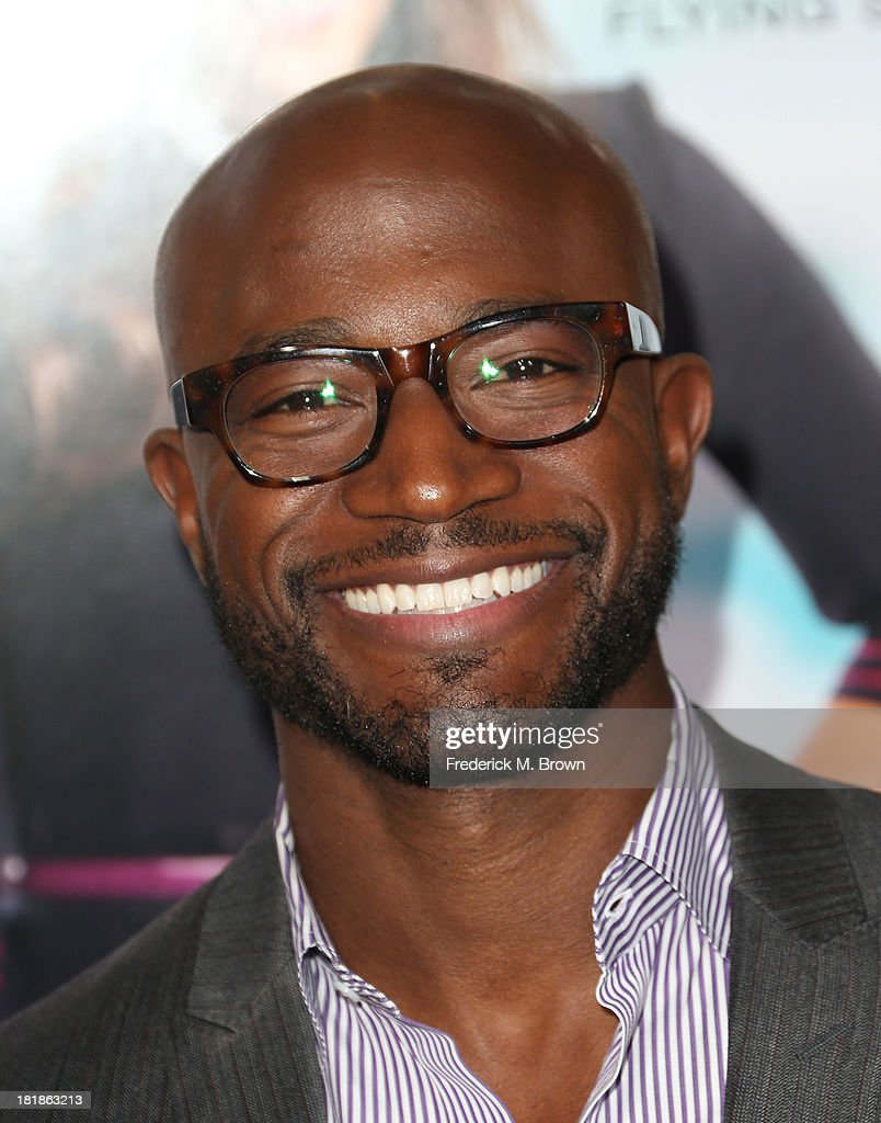 Actor Taye Diggs attends the premiere of Fox Searchlight Pictures' 'Baggage Claim' at the Regal Cinemas LA Live on September 25 2013 in Los Angeles...