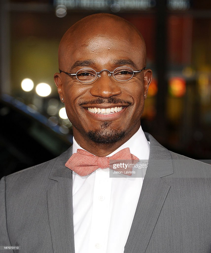 Actor <a gi-track='captionPersonalityLinkClicked' href=/galleries/search?phrase=Taye+Diggs&family=editorial&specificpeople=206415 ng-click='$event.stopPropagation()'>Taye Diggs</a> attends the premiere of 'The Best Man Holiday' at TCL Chinese Theatre on November 5, 2013 in Hollywood, California.