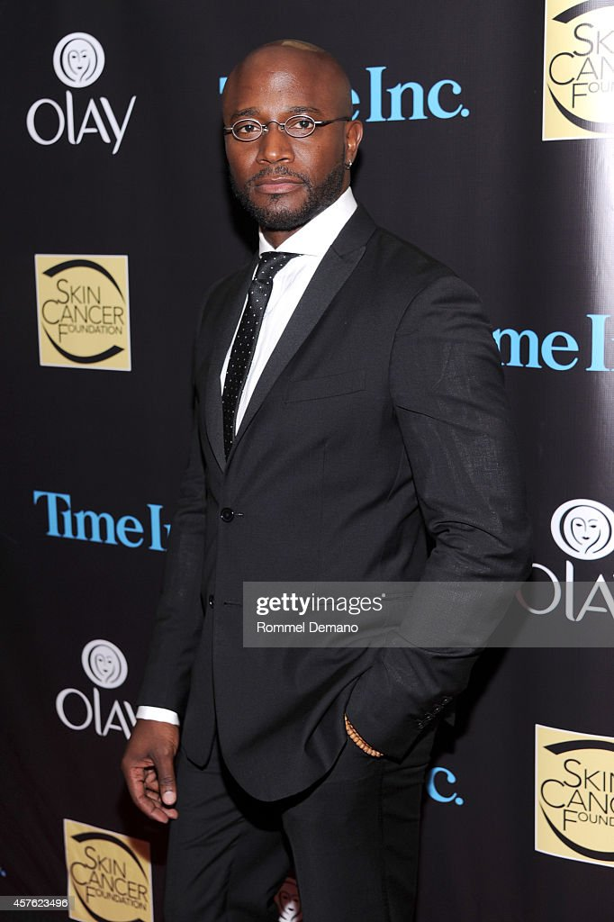 Actor Taye Diggs attends the Skin Cancer Foundation Gala at Mandarin Oriental Hotel on October 21 2014 in New York City