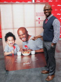 Actor Taye Diggs attends the unveiling of the new Milk Mustache 'got milk' ad campaign as part of Kellogg's Share Breakfast program at Hollywood...