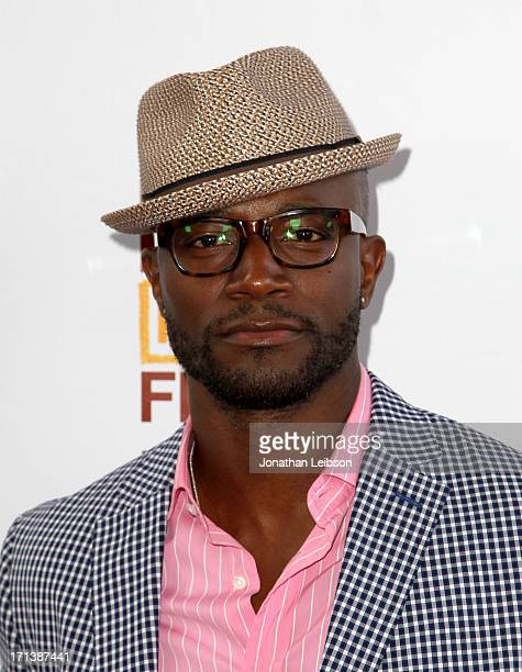 Actor Taye Diggs attends 'The Way Way Back' premiere sponsored by DIRECTV during the 2013 Los Angeles Film Festival at Regal Cinemas LA Live on June...