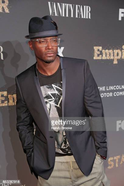 Actor Taye Diggs poses on the red carpet during the 'Empire' 'Star' Celebrate FOX's New Wednesday Night at One World Observatory on September 23 2017...