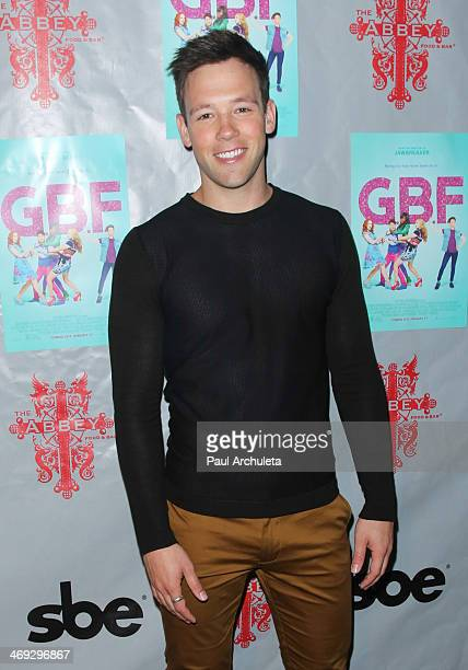 Actor Taylor Frey attends the DVD release party for 'GBF' at The Abbey on February 13 2014 in West Hollywood California