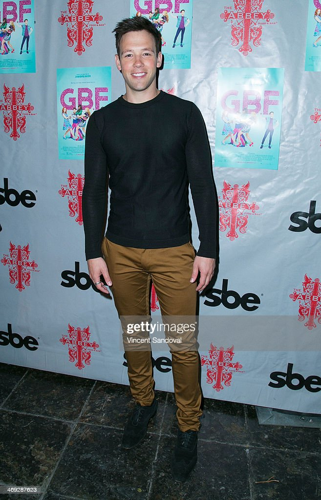 Actor Taylor Frey attends the 'G.B.F.' DVD release party at The Abbey on February 13, 2014 in West Hollywood, California.