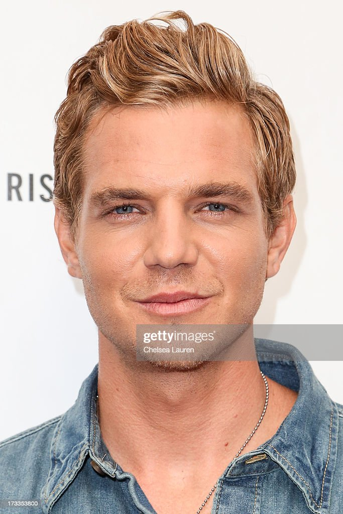 Actor Taylor Handley attends Abercrombie & Fitch's 'Stars on the Rise' event at Abercrombie & Fitch on July 11, 2013 in Los Angeles, California.