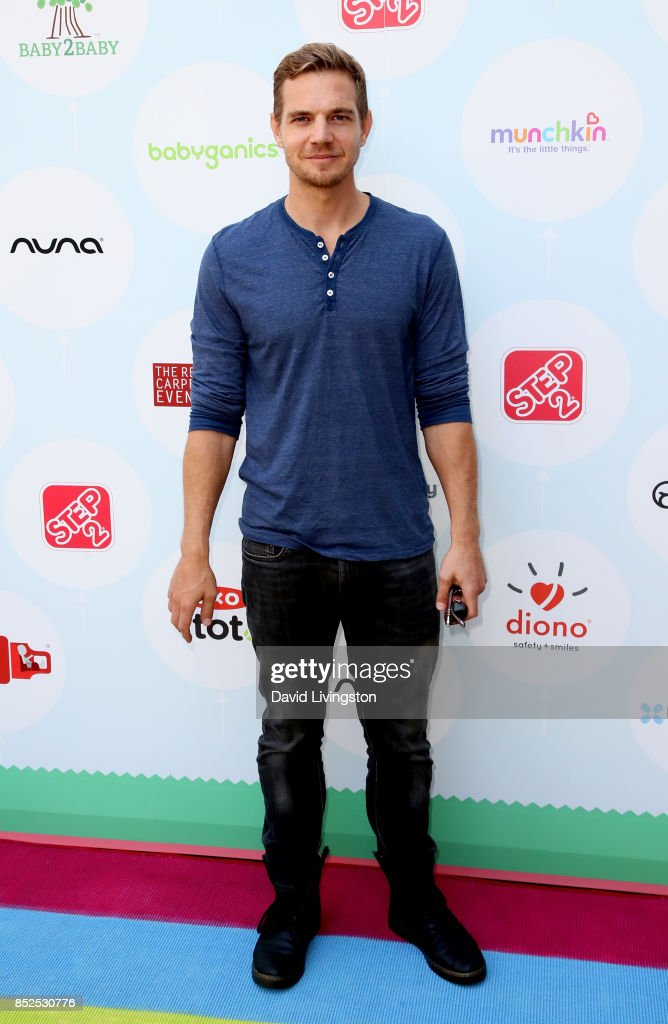 Actor Taylor Handley attends the 6th Annual Celebrity Red CARpet Safety Awareness Event at Sony Studios Commissary on September 23, 2017 in Culver City, California.