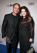 Actor Taylor Kinney and TV personality Lisa Vanderpump attend DailyMail's after party for 2016 People's Choice Awards at Club Nokia on January 6 2016...