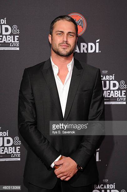 Actor Taylor Kinney attends Cuban Independence Day celebration hosted by VICE and Bacardi at Weylin B Seymour's on May 20 2014 in New York City