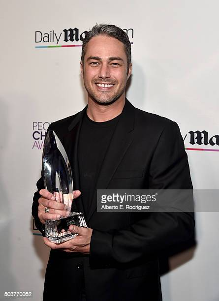 Actor Taylor Kinney attends DailyMail's after party for 2016 People's Choice Awards at Club Nokia on January 6 2016 in Los Angeles California