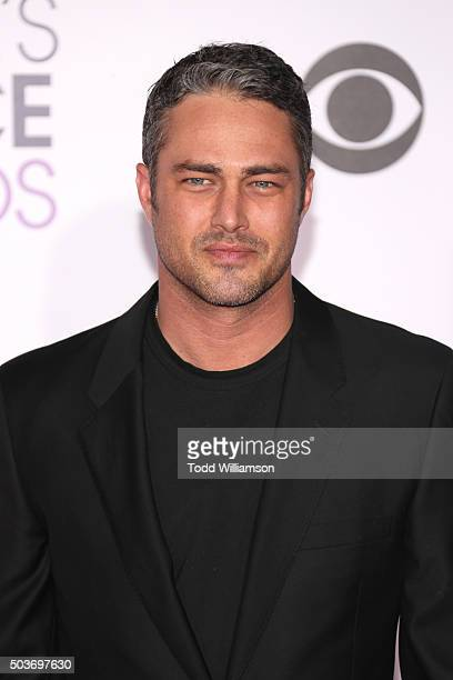 Actor Taylor Kinney attends the People's Choice Awards 2016 at Microsoft Theater on January 6 2016 in Los Angeles California