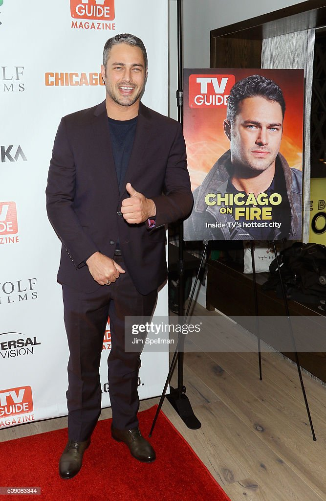 Actor <a gi-track='captionPersonalityLinkClicked' href=/galleries/search?phrase=Taylor+Kinney&family=editorial&specificpeople=747018 ng-click='$event.stopPropagation()'>Taylor Kinney</a> attends the TV Guide Magazine celebrates Dick Wolf's Chicago series at LeGrande Lounge at The Time New York Hotel on February 8, 2016 in New York City.