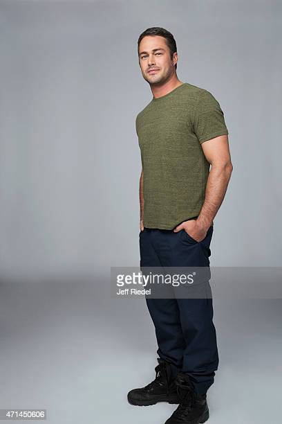 Actor Taylor Kinney is photographed for TV Guide Magazine on October 4 2014 in Chicago Illinois