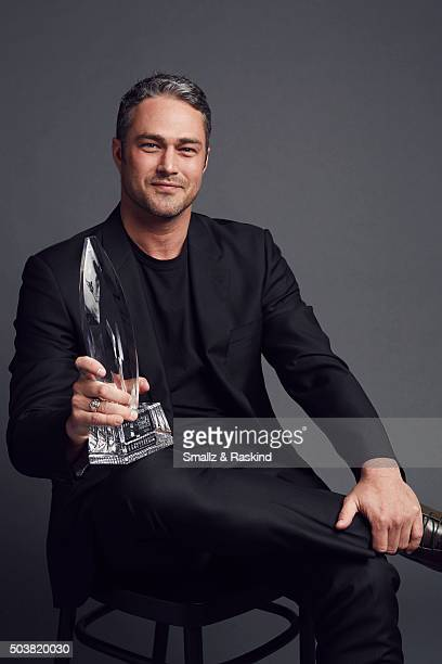 Actor Taylor Kinney poses for a portrait at the 2016 People's Choice Awards at the Microsoft Theater on January 6 2016 in Los Angeles California