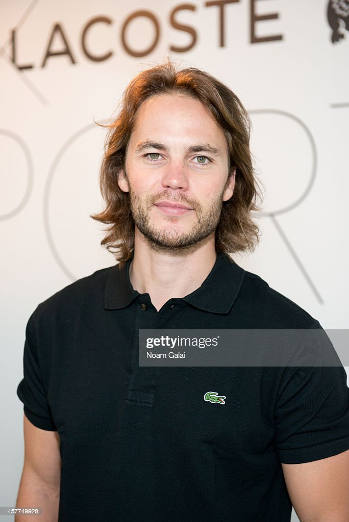 GQ X LACOSTE Celebrate Sport Pop-Up Shop Opening In NYC Hosted By Taye Diggs Taylor Kitsch, and Justin Bartha