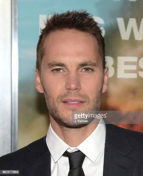 Actor Taylor Kitsch attends the 'Only The Brave' New York Screening at iPic Theater on October 17 2017 in New York City