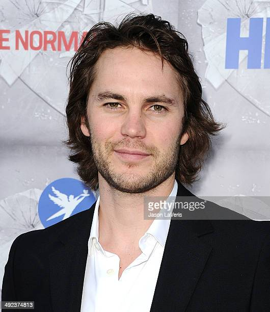 Actor Taylor Kitsch attends the premiere of 'The Normal Heart' at The Writers Guild Theatre on May 19 2014 in Beverly Hills California