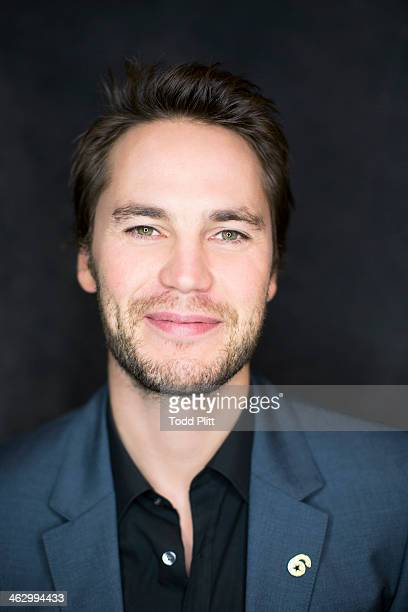Actor Taylor Kitsch is photographed for USA Today on December 5 2013 in New York City