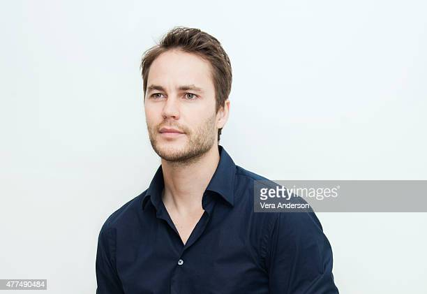 Actor Taylor Kitsch poses for a portrait at the 'True Detective' Press Conference at the Four Seasons Hotel on June 05 2015 in Beverly Hills...