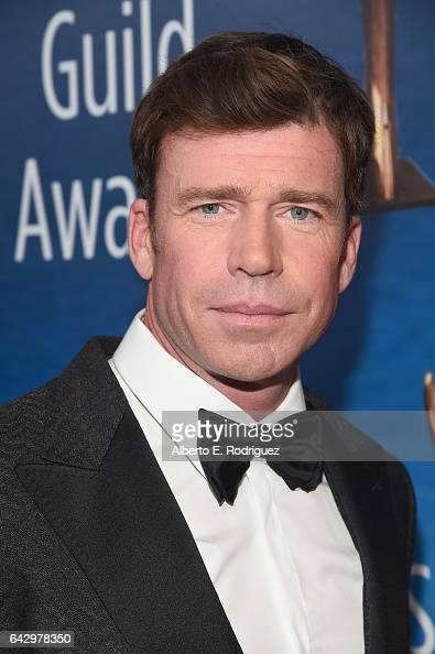 Actor Taylor Sheridan attends the 2017 Writers Guild Awards LA Ceremony at The Beverly Hilton Hotel on February 19 2017 in Beverly Hills California