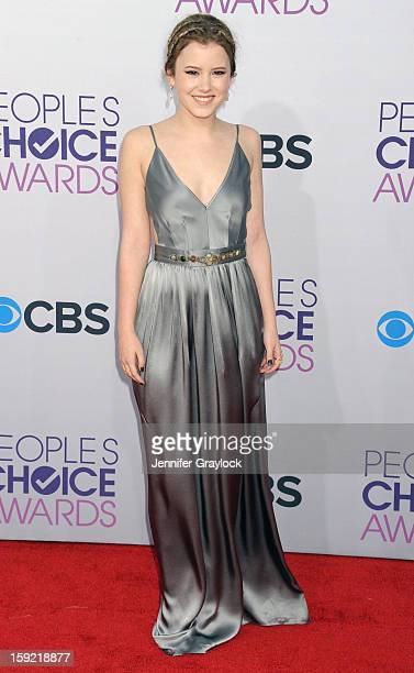 Actor Taylor Spreitler attends the 2013 People's Choice Awards Arrivals held at Nokia Theatre LA Live on January 9 2013 in Los Angeles California