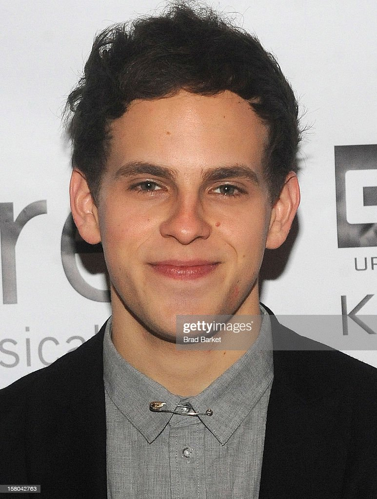 Actor Taylor Trensch attends 'BARE The Musical' Opening Night After Party at Out Hotel on December 9, 2012 in New York City.
