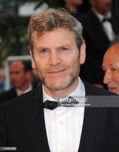 Actor Tcheky Karyo attends the 'Changeling' Premiere at the Palais des Festivals during the 61st Cannes International Film Festival on May 20 2008 in...