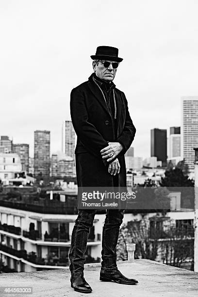 Actor Tcheky Karyo is photographed for EDGAR Magazine on November 7 2013 in Paris France