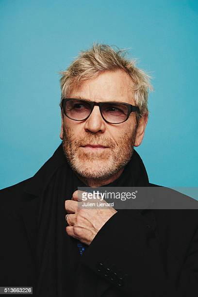 Actor Tcheky Karyo is photographed for for Self Assignment on February 2 2016 in Paris France