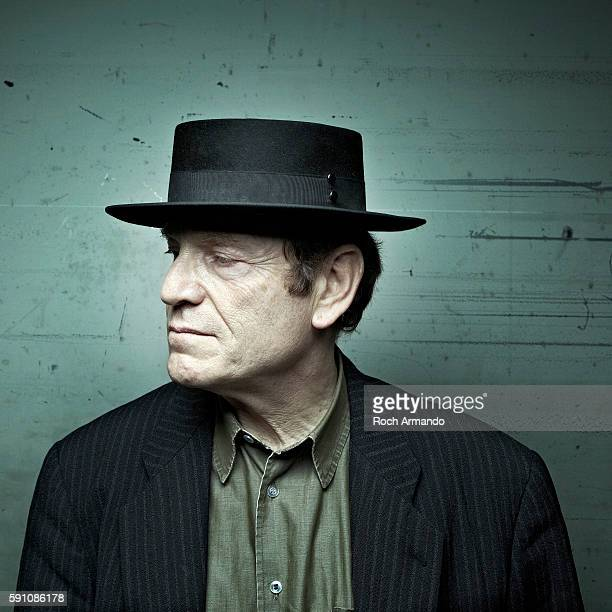 Actor Tcheky Karyo is photographed for Self Assignment on May 16 2011 in Nice France