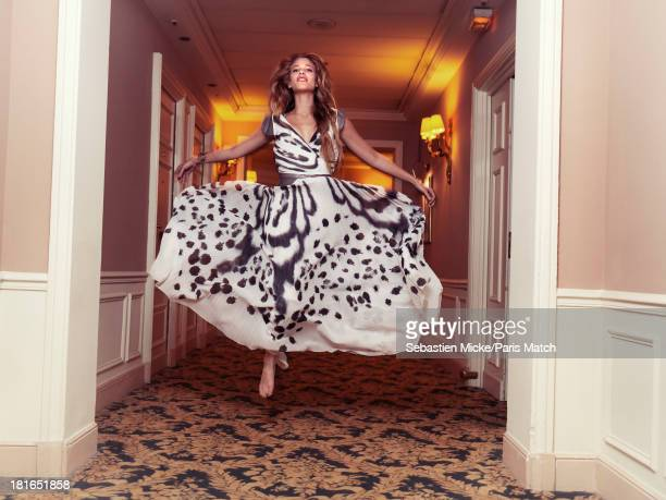 Actor Tea Falco is photogrpahed for Paris Match on May 24 2013 in Cannes France