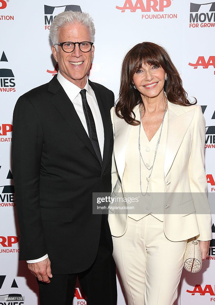 Actor <a gi-track='captionPersonalityLinkClicked' href=/galleries/search?phrase=Ted+Danson&family=editorial&specificpeople=210692 ng-click='$event.stopPropagation()'>Ted Danson</a> (L) and actress <a gi-track='captionPersonalityLinkClicked' href=/galleries/search?phrase=Mary+Steenburgen&family=editorial&specificpeople=209210 ng-click='$event.stopPropagation()'>Mary Steenburgen</a> attend the 13th Annual AARP's Movies For Grownups Awards Gala at Regent Beverly Wilshire Hotel on February 10, 2014 in Beverly Hills, California.