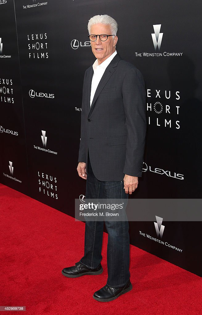 Actor <a gi-track='captionPersonalityLinkClicked' href=/galleries/search?phrase=Ted+Danson&family=editorial&specificpeople=210692 ng-click='$event.stopPropagation()'>Ted Danson</a> attends The Weinstein Company and Lexus Presents Lexus Short Films at the Regal Cinemas L.A. Live on July 30, 2014 in Los Angeles, California.